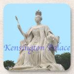 Estatua de la reina Victoria del palacio de Kensin Posavasos