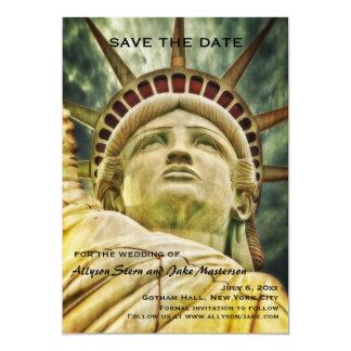Estatua de la reserva de la libertad la invitación