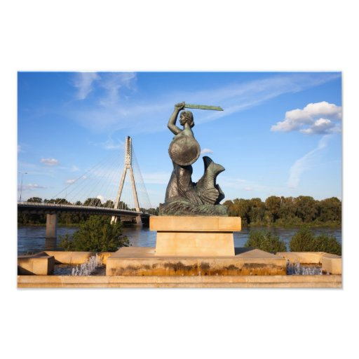Estatua de la sirena en Varsovia Fotografías