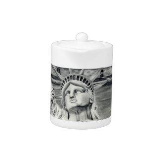 Estatua de la tetera de la libertad