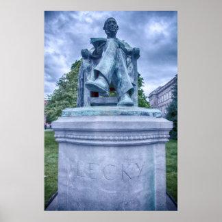 Estatua de Lecky Póster