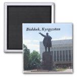 Estatua de Lenin, Bishkek, Kirguistán Imán Para Frigorifico