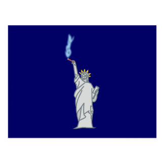 Estatua de libertad cigarro statue of liberty ciga tarjetas postales
