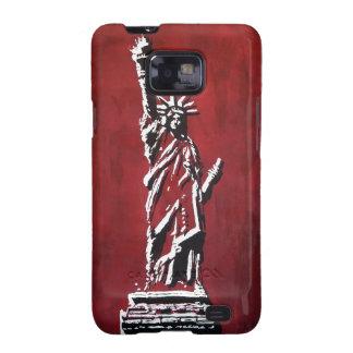 Estatua de libertad - Libertas Galaxy S2 Carcasas