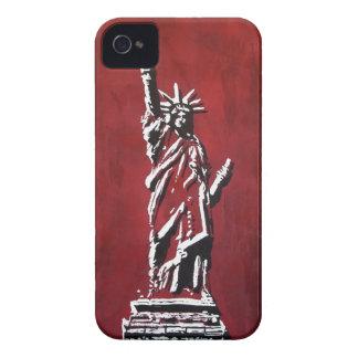 Estatua de libertad - Libertas Case-Mate iPhone 4 Protector