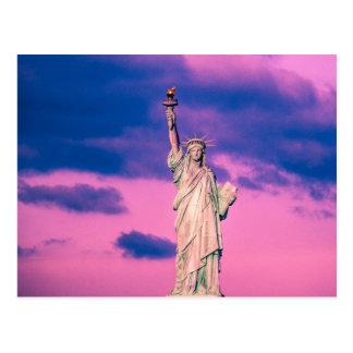Estatua de libertad postales