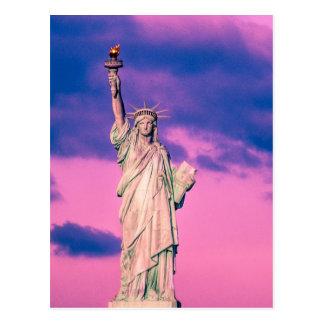 Estatua de libertad tarjetas postales