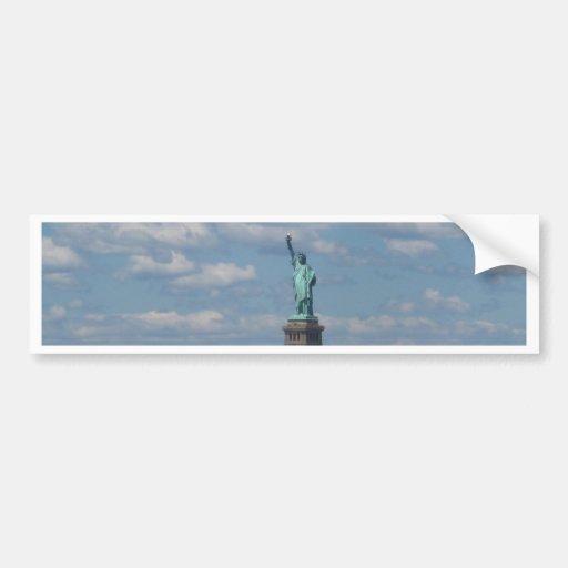 Estatua de Liberty.JPG Pegatina Para Auto