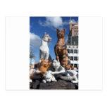 Estatua de los gatos en Kucing, Borneo Postales