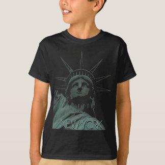 Estatua de los recuerdos de la camisa de Nueva