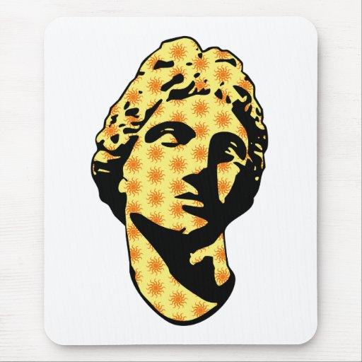 Estatua de mármol de Apolo Alfombrillas De Raton