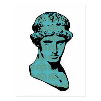 Estatua de mármol de Athena Tarjetas Postales