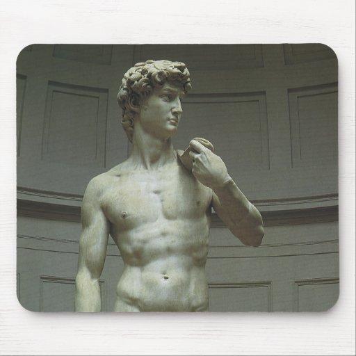 Estatua de mármol de David de Miguel Ángel Alfombrilla De Ratón