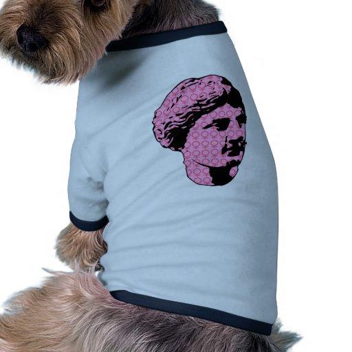 Estatua de mármol de Venus Camiseta Con Mangas Para Perro
