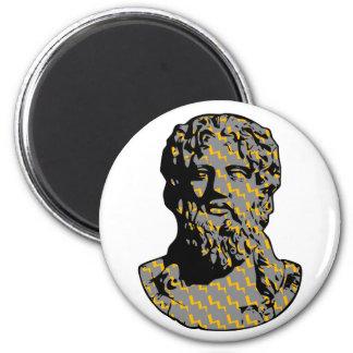 Estatua de mármol de Zeus Iman De Nevera