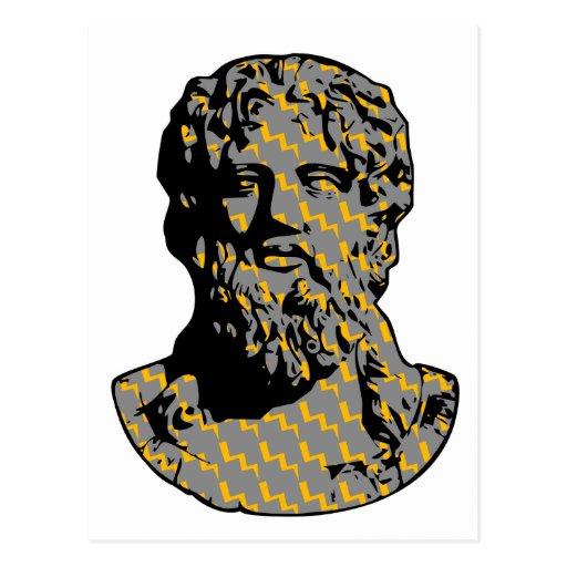Estatua de mármol de Zeus Postal