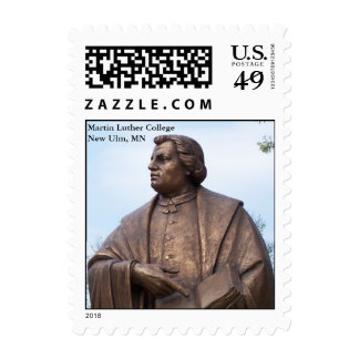 Estatua de Martin Luther (pequeña) Sello