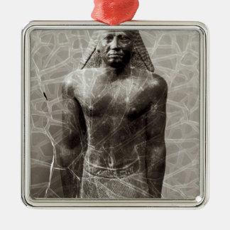 Estatua de Mentuemhat, gobernador de Thebes Ornamento De Reyes Magos