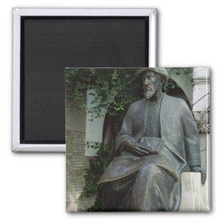 Estatua de Moses Maimonides Imanes De Nevera
