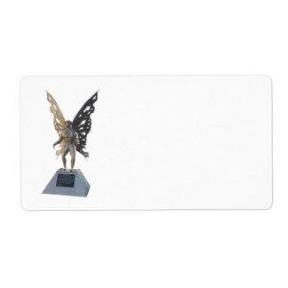 Estatua de Mothman del punto Virginia Occidental a Etiqueta De Envío