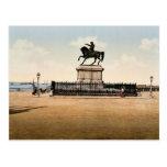 Estatua de Napoleon I, Cherbourg, Francia pH clási Postal