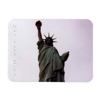 estatua de New York City de la libertad Imán Flexible