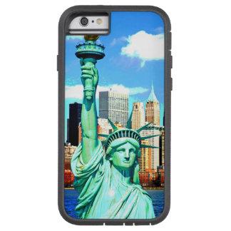 Estatua de NewYork de la caja del teléfono 6 de la Funda De iPhone 6 Tough Xtreme