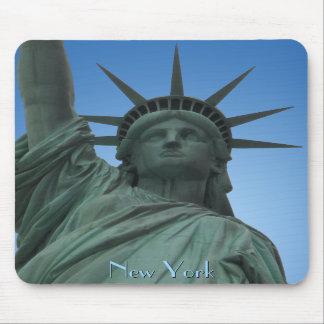 Estatua de Nueva York Mousepad Nueva York de los r Tapete De Raton