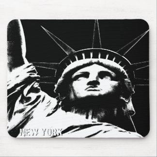 Estatua de Nueva York Mousepad Nueva York de los r Alfombrilla De Ratón