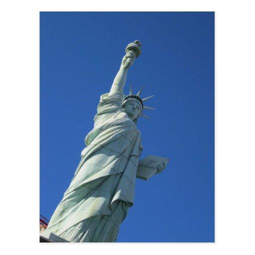 Estatua de Nueva York Nueva York de la libertad Postal