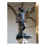 Estatua de Perseus, Signor de la descripción del d Tarjeta Postal