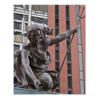 Estatua de Portlandia, Portland, Oregon Posters