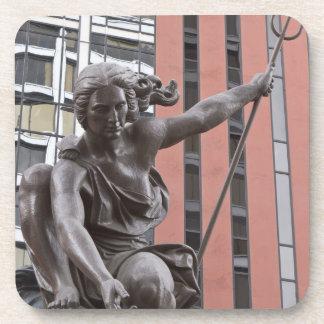Estatua de Portlandia, Portland, Oregon Posavasos De Bebidas