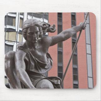 Estatua de Portlandia, Portland, Oregon Tapetes De Raton