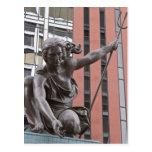 Estatua de Portlandia, Portland, Oregon Tarjetas Postales