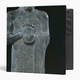 """Estatua de príncipe Gudea, c.2150 A.C. Carpeta 1 1/2"""""""