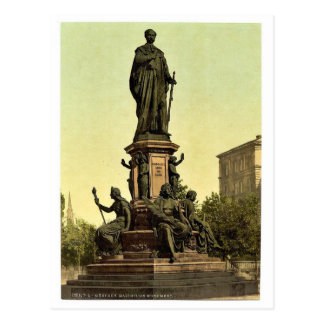 Estatua de rey Maximiliano II de Baviera, Munich,  Postales