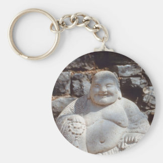 Estatua de risa de Buda Llavero