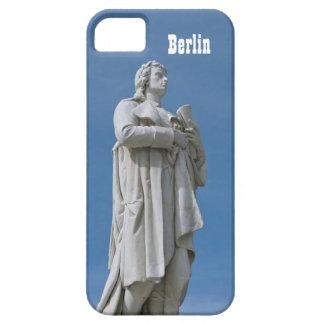 Estatua de Schiller en Berlín iPhone 5 Cárcasa