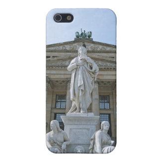 Estatua de Schiller en Berlín iPhone 5 Protector
