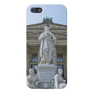 Estatua de Schiller en Berlín iPhone 5 Cobertura