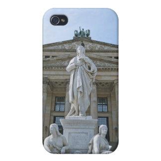 Estatua de Schiller en Berlín iPhone 4/4S Funda