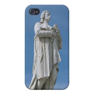 Estatua de Schiller en casos del iPhone 4/4S de Be iPhone 4 Coberturas