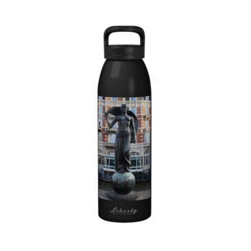 Estatua de señora Fortuna, Amsterdam Botellas De Agua Reutilizables