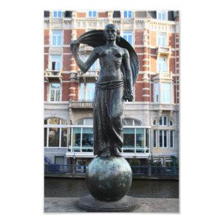 Estatua de señora Fortuna, Amsterdam Fotografías
