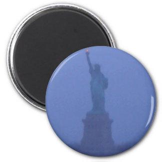 Estatua de señora Liberty libertad los E E U U Am Imán De Frigorífico