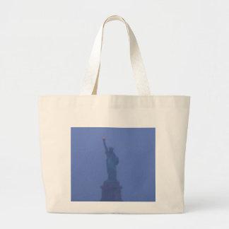 Estatua de señora Liberty The libertad los E E U U Bolsas