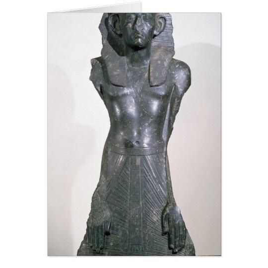 Estatua de Sesostris III en Edad Media Tarjeta De Felicitación