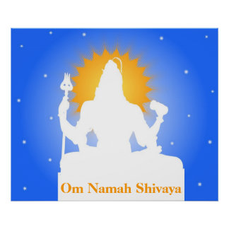 Estatua de Shiva - poster