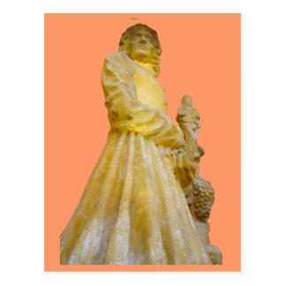 Estatua de un fabricante del vino; Región 1 del vi Postal